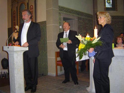 2008 - Auftritt in der Kirche in Mörlen